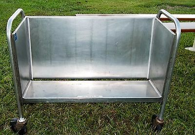 Stainless Steel Plate Dish Cart Caddy..