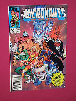 Micronauts The New Voyages #1, Marvel Comic Book - 1984 1st Issue