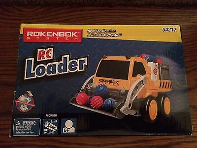 Rokenbok 04217 RC Loader for the Original Rokenbok System New in Box.