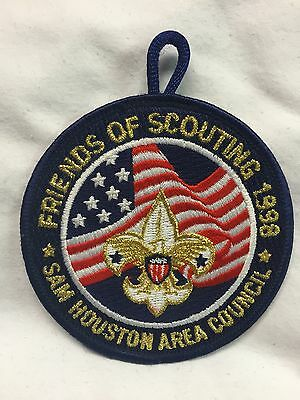 Boy Scouts - 1998 Sam Houston Area Council - Friends of Scouting patch