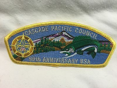 Boy Scouts  -  Cascade Pacific Council 90th anniversary csp