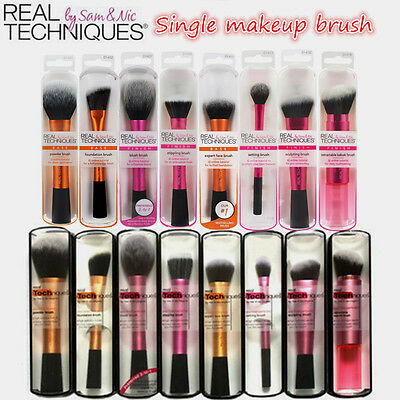 New Real Techniques Makeup Brushes Foundation Expert Face  Powder Starter Blush