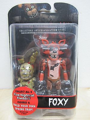 "2016 Funko Five Nights At Freddy's Foxy 5"" Action Figure New In Sealed Package"