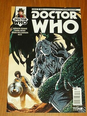 Doctor Who #3 Fourth Doctor Titan Comics Cover A July 2016 Nm (9.4)