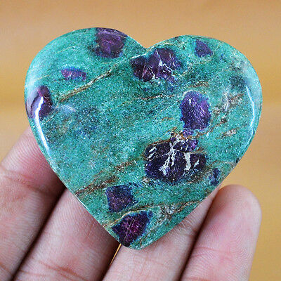 Finest Rare 178.45 Cts Natural Untreated Ruby Ziosite Heart Shaped Gemstone