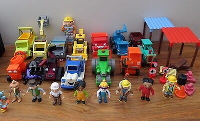 Job Lot Of Bob The Builder Vehicles And Figures