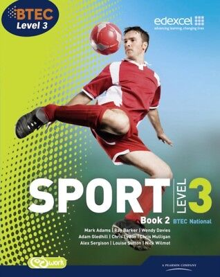 BTEC Level 3 National Sport Book 2: Book 2 (BTEC National Sport 2...