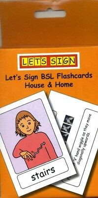 Let's Sign BSL Flashcards: House & Home: British Sign Language (C. 9781905913176
