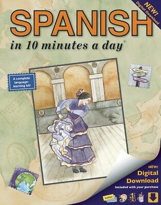 SPANISH in 10 minutes a day® (Paperback), Kristine Kershul, 9781931873307