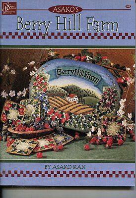 PAINTING BOOK - BERRY HILL FARM by ASAKO KAN