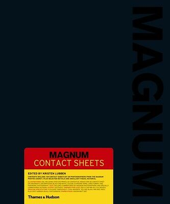 Magnum Contact Sheets (Hardcover), Lubben, Kristen, 9780500544310