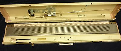Brother Kh260 Knitting Machine With Manual, Cards And Patterns