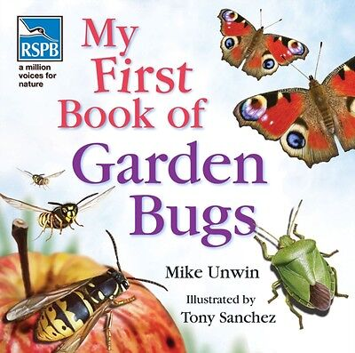 RSPB My First Book of Garden Bugs (Hardcover), Unwin, Mike, 9781408114155