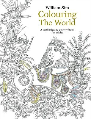 Colouring the World: A sophisticated activity book for adults (Pa. 9789814677967