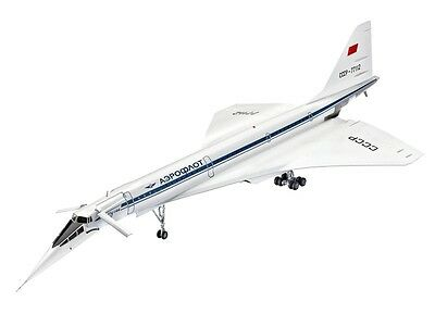 Revell Supersonic Passenger Aircraft Tupolev Tu-144D 1:144 - 04871
