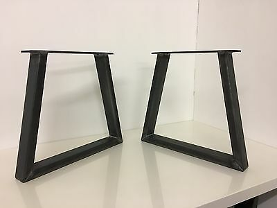 Set Of Industrial Steel Metal legs For Coffee Table -Trapezium Design