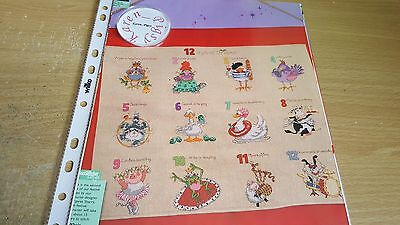 Cross Stitch Chart Margaret Sherry 12 Days Of Christmas Charts All 3 Parts
