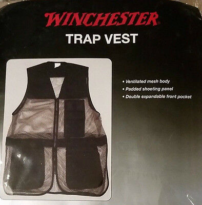 New Winchester Competition Skeet Trap Shooting Vest M/l Free Worldwide Shipping