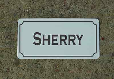SHERRY Metal Sign Vintage Style for Wine Cellar Cave or Collection or Kitchen