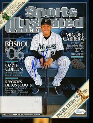 Miguel Cabrera Jsa Coa Signed 2006 Sports Illustrated Authentic Autograph