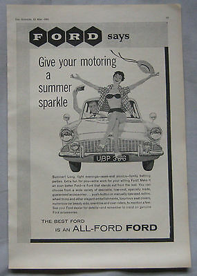 1961 Ford Original advert No.3