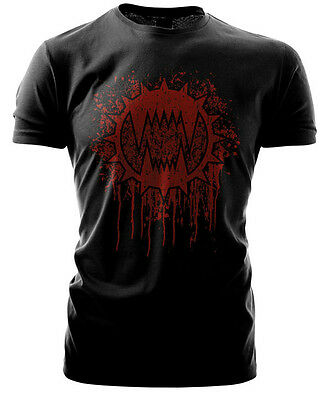Warhammer 40k Forgeworld Event Only T shirt World Eaters Black