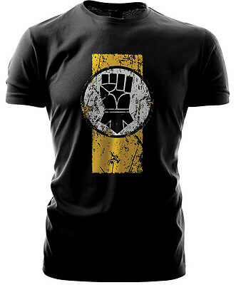 Warhammer 40k Forgeworld Event Only T shirt  Imperial Fists Black