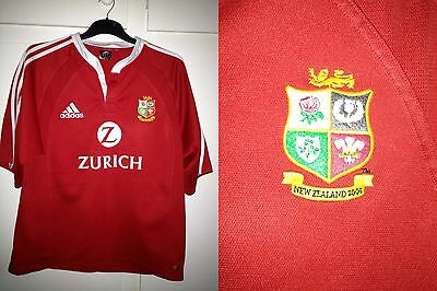 British Lions S/S Rugby Shirt 2005 New Zealand Tour