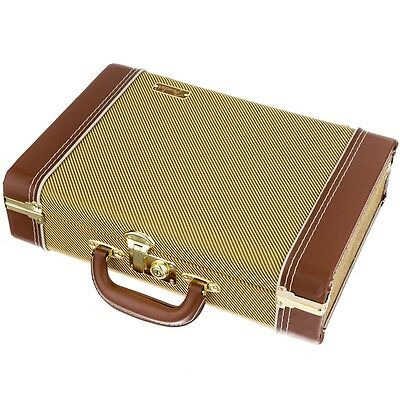 Christmas Gift - Fender® Gold Vintage Tweed Harmonica & Utility Case #0991013000