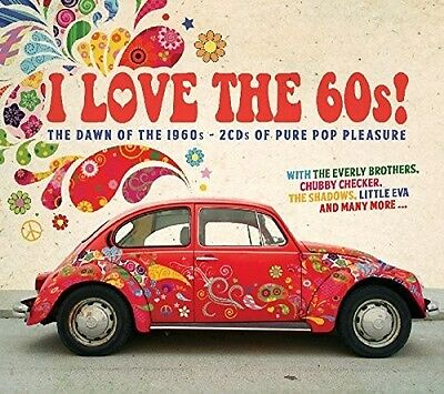 Various Artists - I Love The 60s / Various [New CD] UK - Import