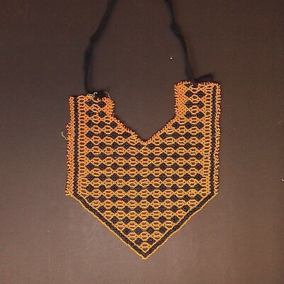 Belly Dance ATS tribal Beaded NECKLACE Afghani Kuchi 805w1