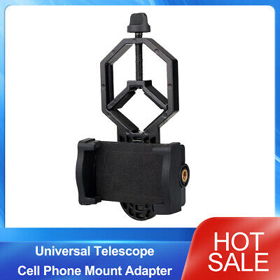New Universal Telescope Cell Phone Mount Adapter for Monocular Spotting Scope AU