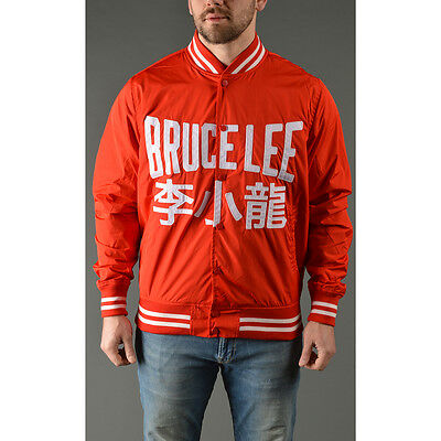 Roots of Fight Bruce Lee Lightweight Stadium Jacket - Red