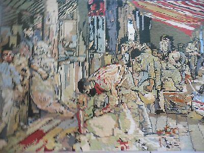 Tapestry Large Completed The Shearers Fay Langsford Made In Australia By Scomark