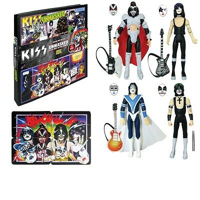 KISS Unmasked 3.75 Inch Deluxe Box Set