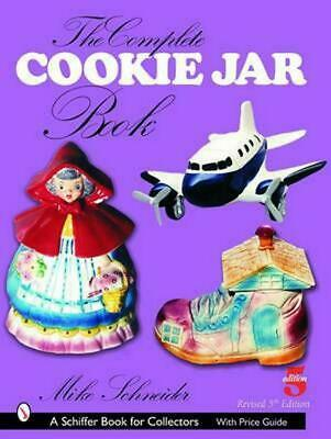 The Complete Cookie Jar Book by Mike Schneider (English) Paperback Book Free Shi
