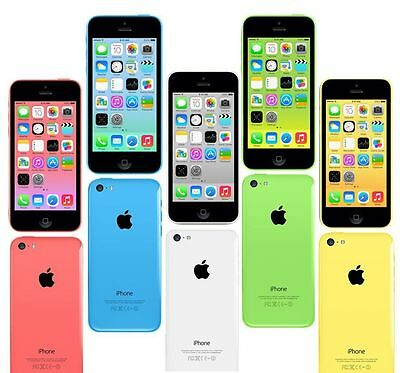 Apple iPhone 5c 32GB Unlocked Smartphone - 5 Colours - Grade A++ Xmas Gift