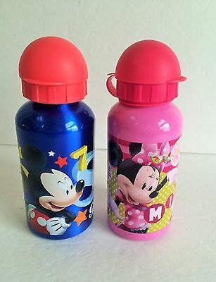 Disney Mickey and Minnie Mouse stainless insulated water drink bottles tumblers
