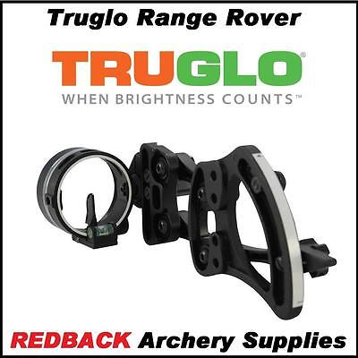 TruGlo Archers Choice Rover Single Pin Archery Bowhunting Sight Right Hand BLK