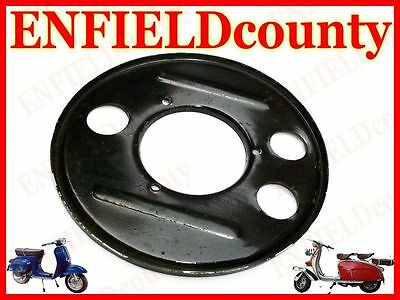 Brand  Vespa Engine Case Rear Hub Back Plate Bare Metal Px Pe T5 Old Vespa @cad