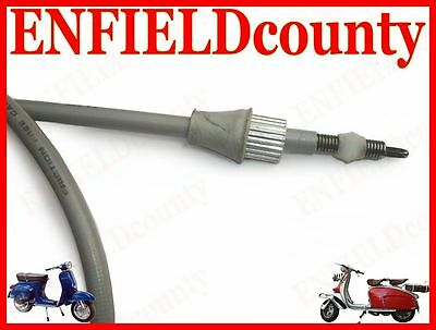 New Vespa Scooter Complete Speedometer Cable Vbb Vbc Vlb Super Sprint @cad