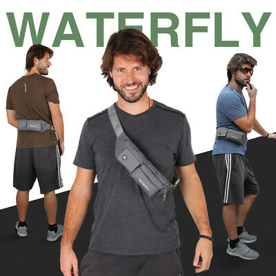 Waterfly Unisex Waist Pouch Hiking Travel Running Belt Bike Fanny Pack Bum Bag