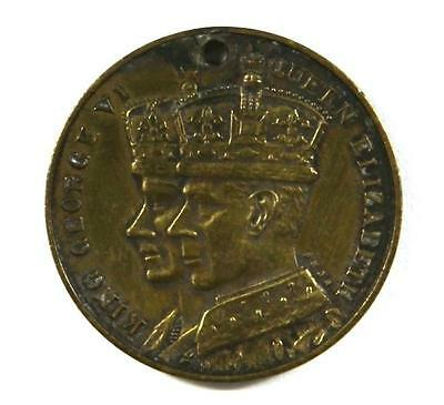 1937 Coronation King George VI & Queen Elizabeth Medal - NSW