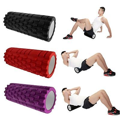 Yoga Foam Roller Exercise Trigger Point GYM Pilates Texture Physio Massage EC