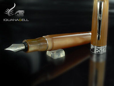 Marlen One Fountain Pen, Resin, Brown, M14-103-BR , F