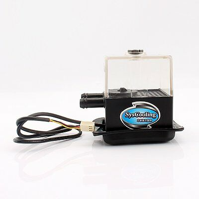 12V DC Ultra-quiet Water Pump Tank 4W SC-300T for PC CPU Liquid Cooling System