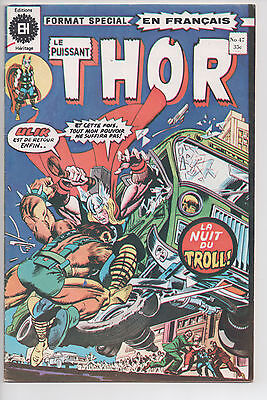 THOR #47 french comic français EDITIONS HERITAGE