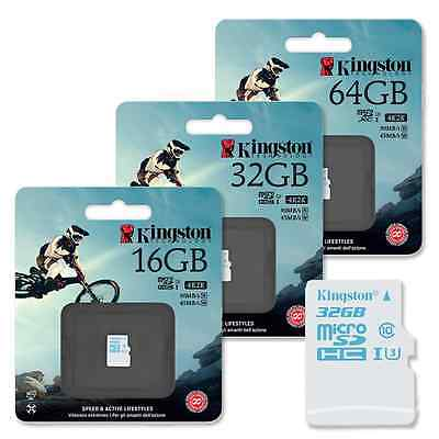 Kingston Micro SD SDXC Memory Card for Action Camera Class 10 90MB/s UHS-1 U3