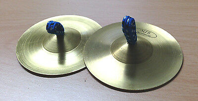Finger Cymbals 1 pair (2 pieces) Belly Dance Costume Kids Music Percussion Toy