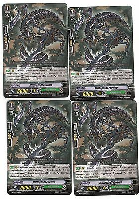 Cardfight VANGUARD 4x Millepiedi Furtivo BT04/065IT C